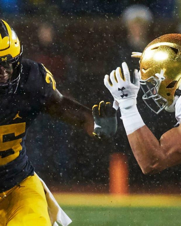 Hassan Haskins vs Notre Dame