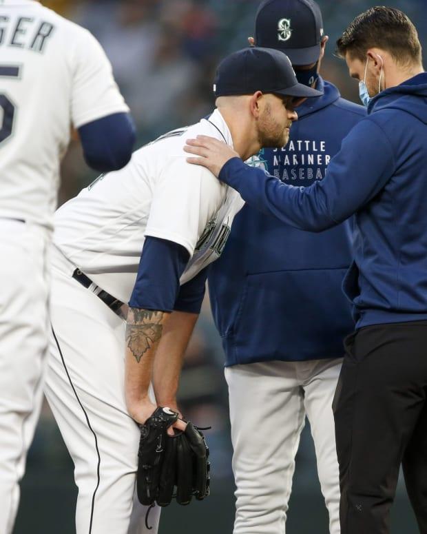 James Paxton Mariners injury