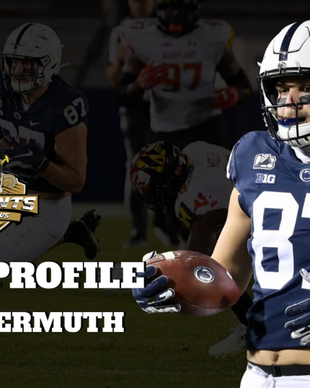 draft profile TE Freiermuth