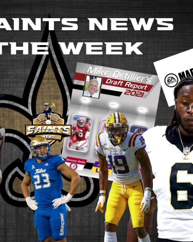 Saints News of the Week