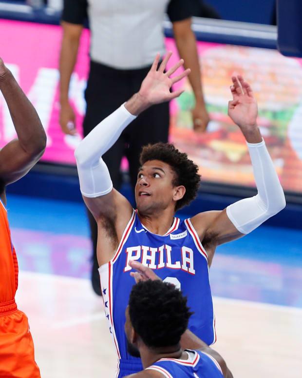 Lu Dort vs Philadelphia 76ers