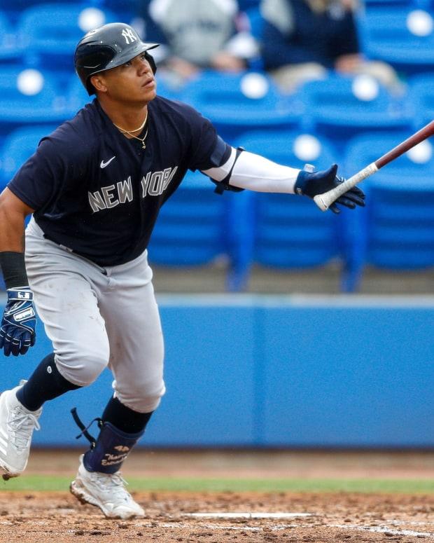 Yankees INF Thairo Estrada home run