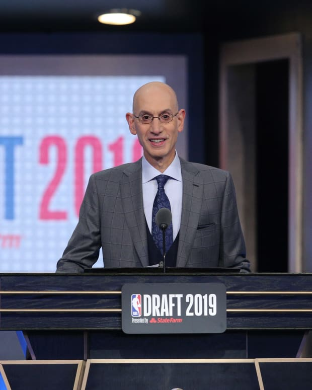 Adam Silver 2019 NBA Draft