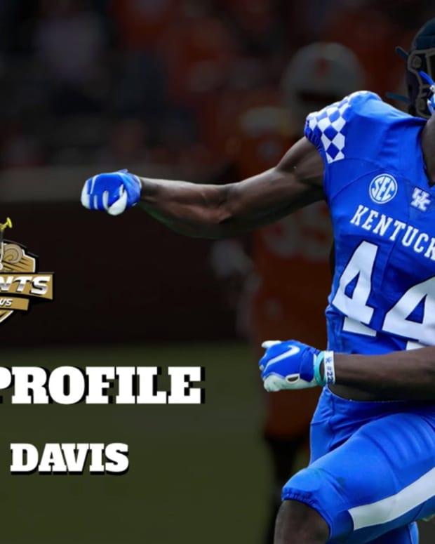 Draft Profile Jamin Davis