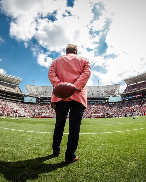 Nick Saban, A-Day Game 2018