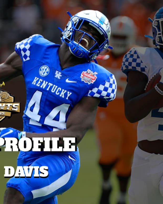 Jamin Davis Draft Profile