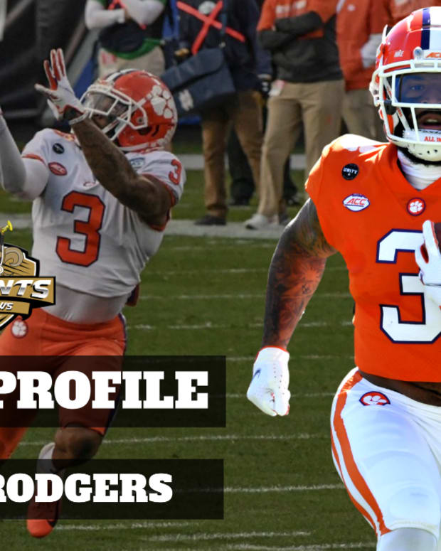 Draft Profile Amari Rodgers
