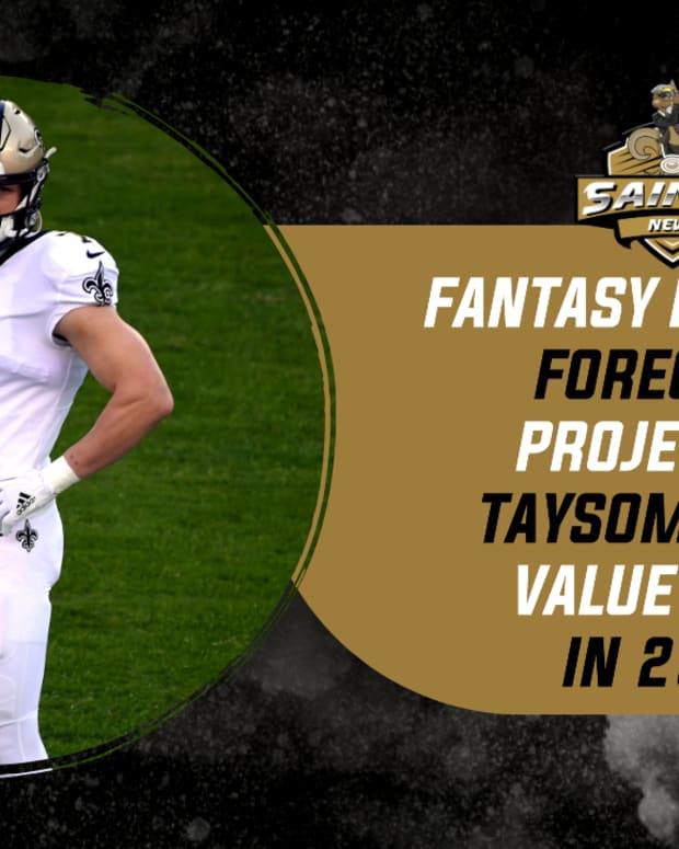 (COPY) Saints Fantasy Football 2021