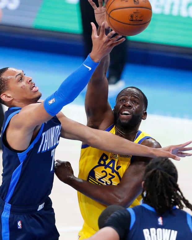 Darius Bazley, Draymond Green, Golden State Warriors