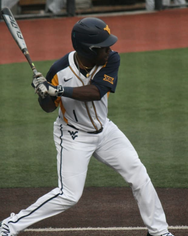 West Virginia's second baseman Tyler Doanes went 2-5 at the plate and led the team with three RBI's.