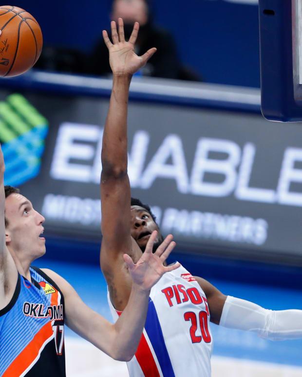 Aleksej Pokusevski, Detroit Pistons