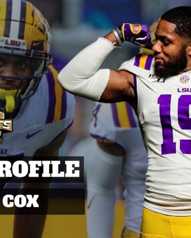 Draft Profile: Jabril Cox