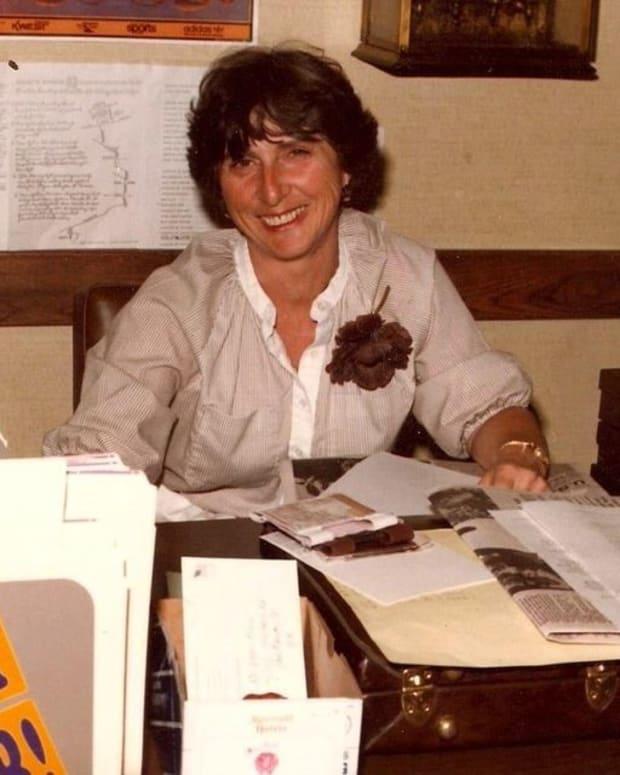 Cleo Blackstone was Don James' secretary.
