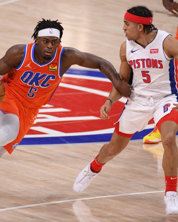 Lu Dort, Detroit Pistons