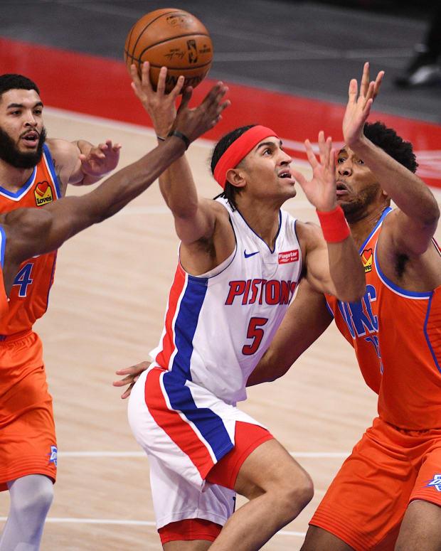 Jalen Hoard, Kenrich Williams, Detroit Pistons