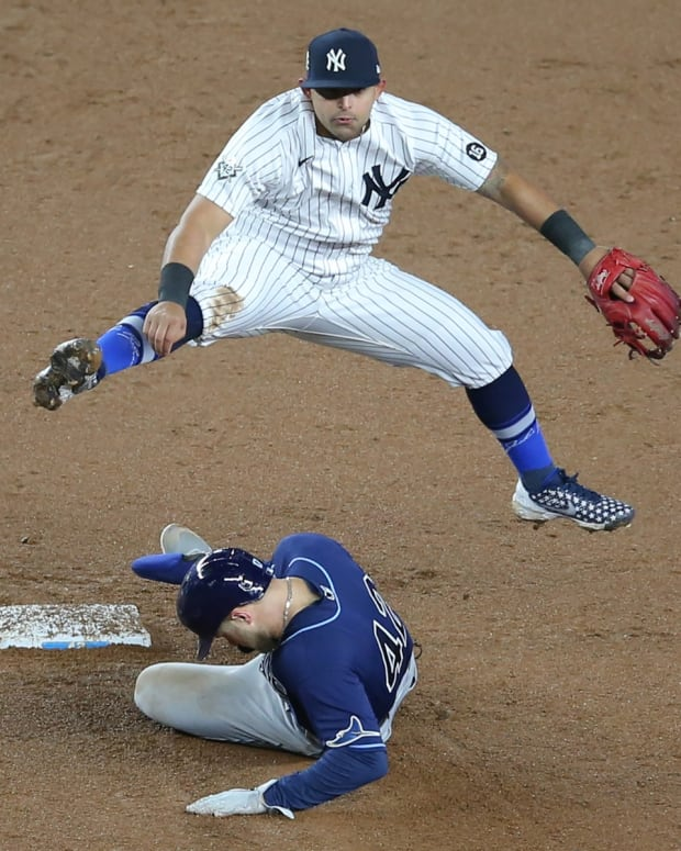 Yankees Rougned Odor at second base