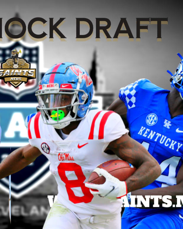 Saints Mock Draft