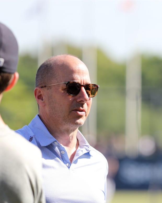 Yankees GM Brian Cashman, manager Aaron Boone