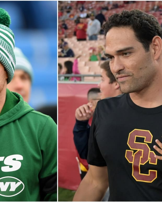 Sam Darnold, Mark Sanchez