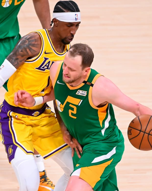 joe ingles vs lakers