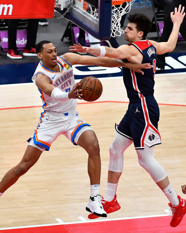 Darius Bazley, Washington Wizards