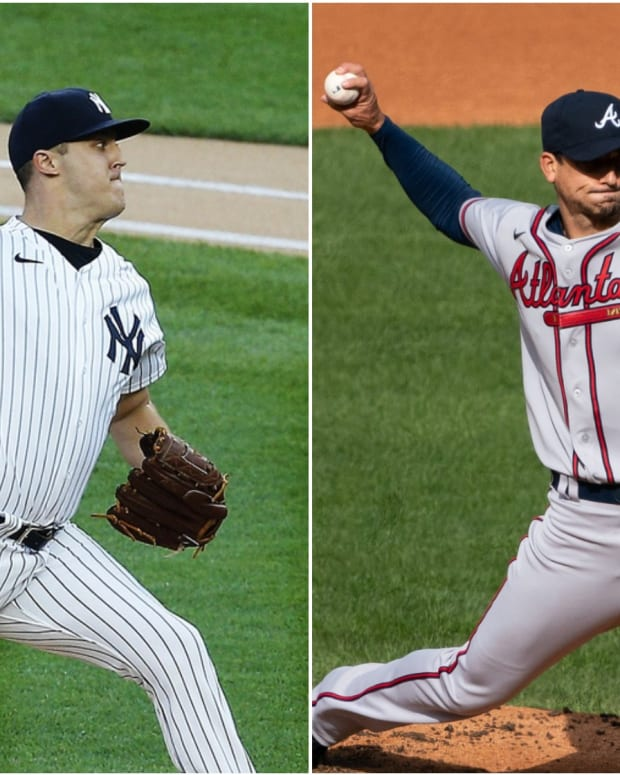 Yankees SP Jameson Taillon, Braves SP Charlie Morton