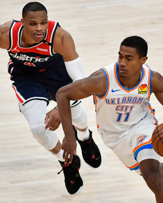 Theo Maledon, Russell Westbrook