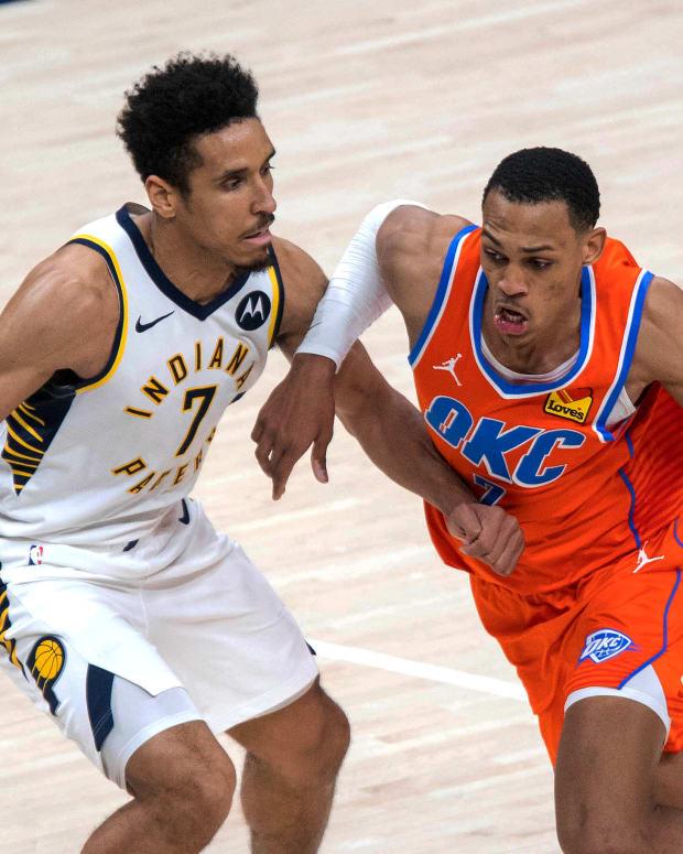 Darius Bazley, Indiana Pacers
