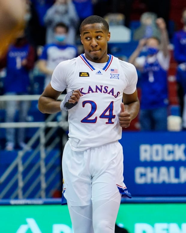 Bryce Thompson, Kansas Jayhawks