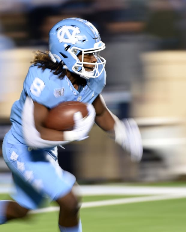 UNC Running Back Michael Carter
