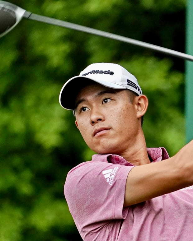 Former Cal golf star Collin Morikawa