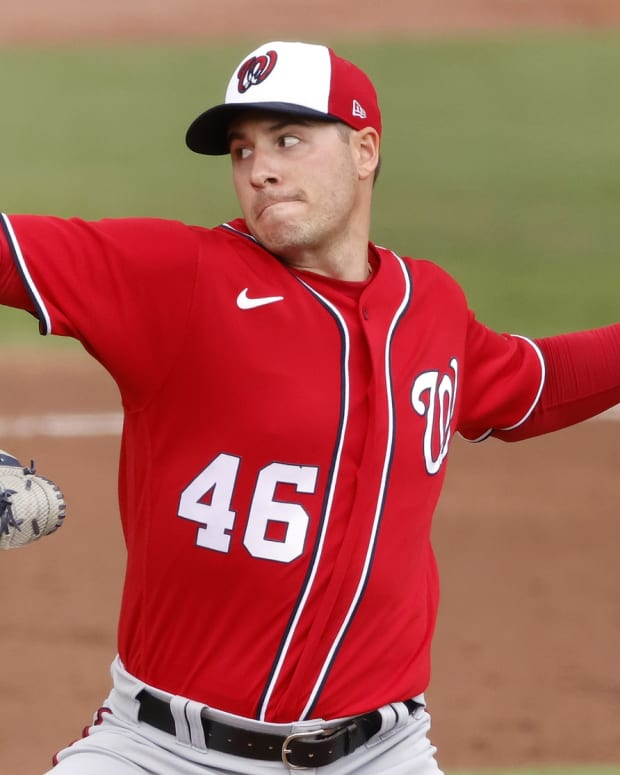 Nationals SP Patrick Corbin