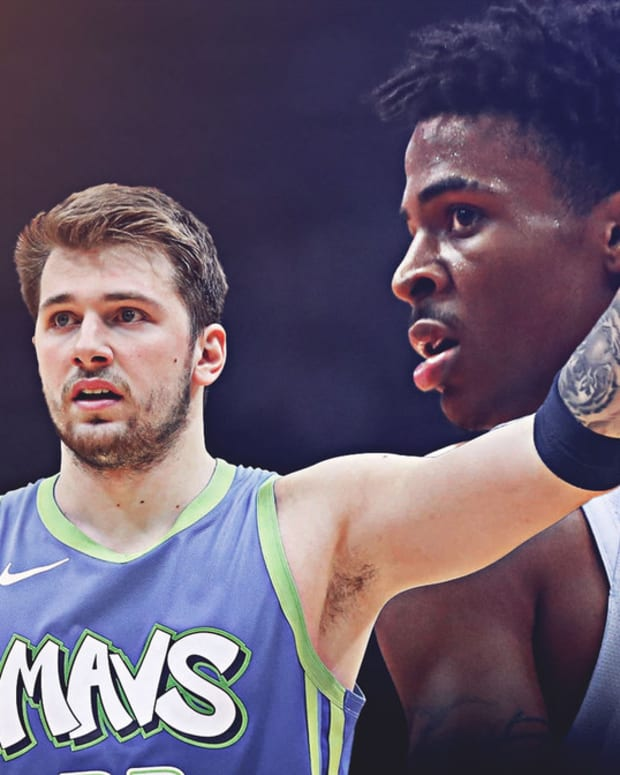 Luka-Doncic-Ja-Morant-swap-jerseys-after-Mavs-Grizzlies-matchup