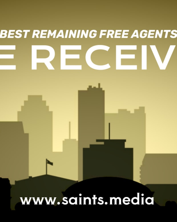 Best Remaining Free Agent Wide Receivers