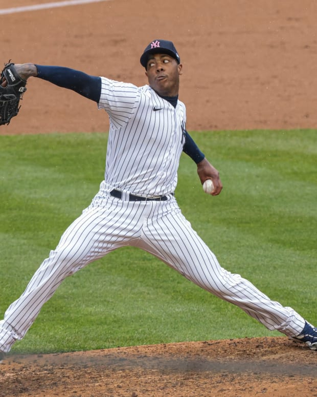 Yankees closer Aroldis Chapman