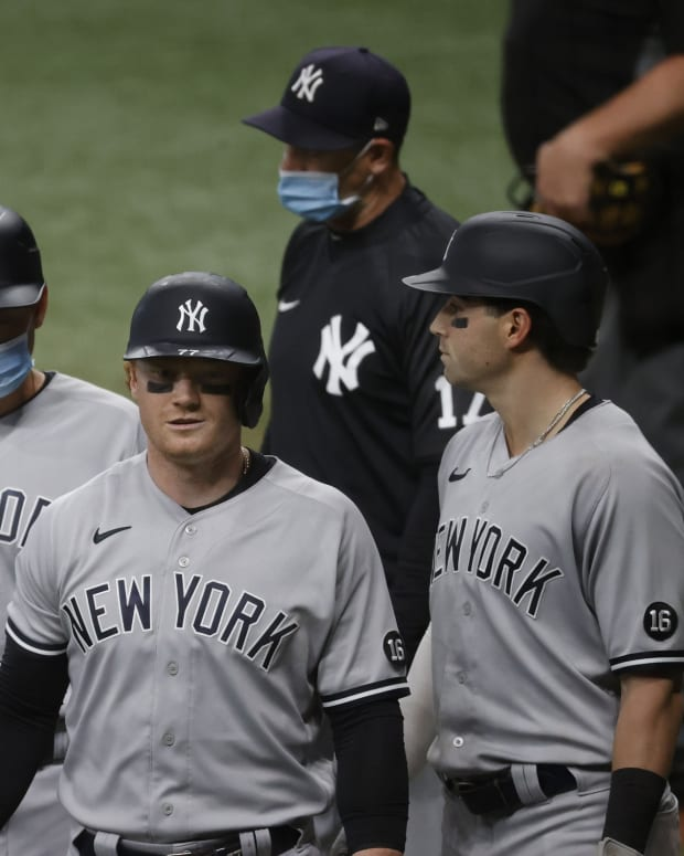 Yankees OF Clint Frazier ejected