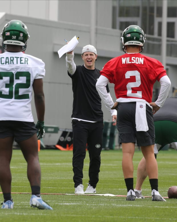 zach wilson michael carter new york jets