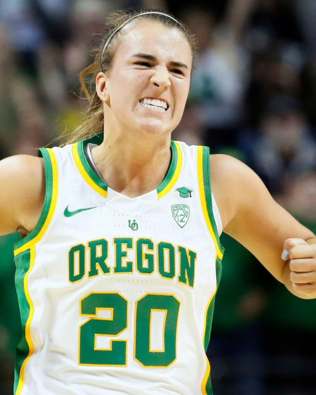 Sabrina Ionescu Oregon State 2020