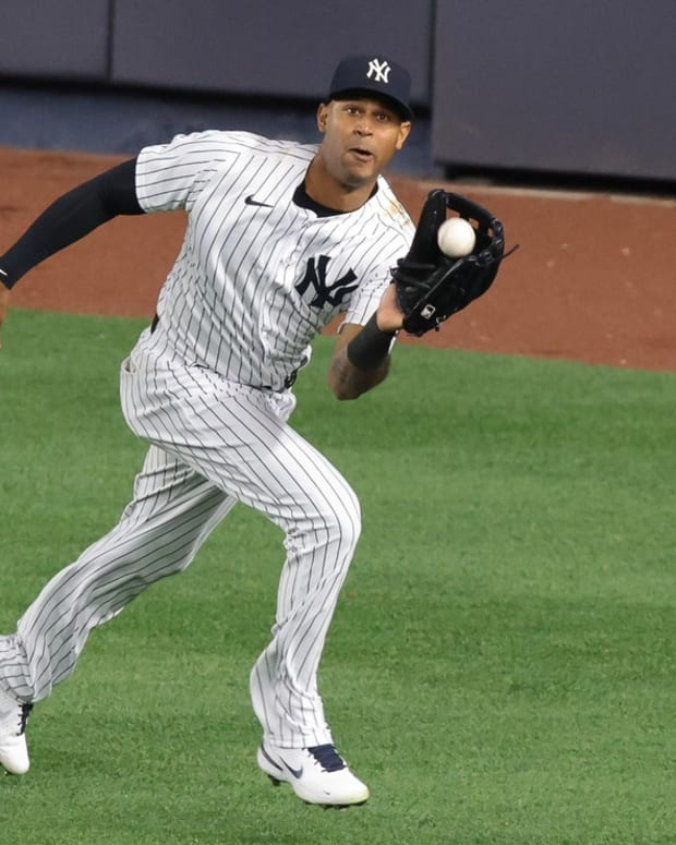 Yankees outfielder Aaron Hicks