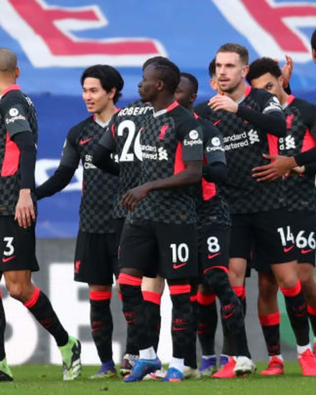 Crystal Palace 0 - 7 Liverpool