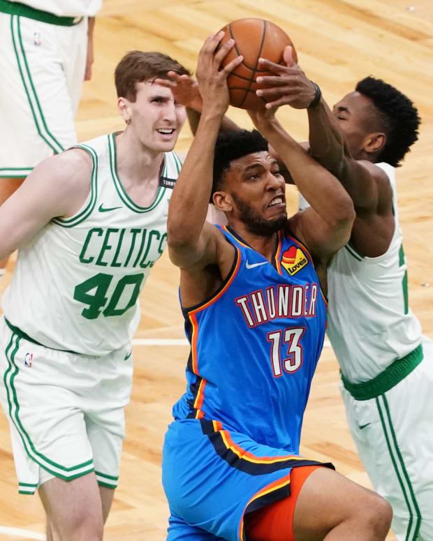 Tony Bradley, Oklahoma City Thunder, Boston Celtics