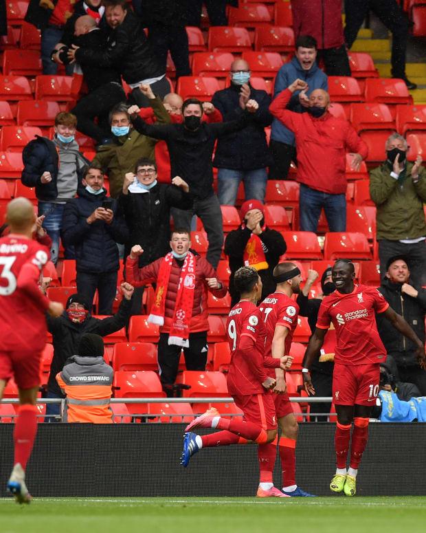 Sadio Mane Goal Crystal Palace