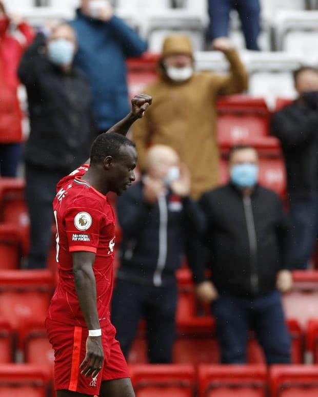 Sadio Mane Crystal Palace Goal