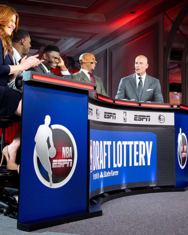 Zion Williamson, NBA Draft Lottery