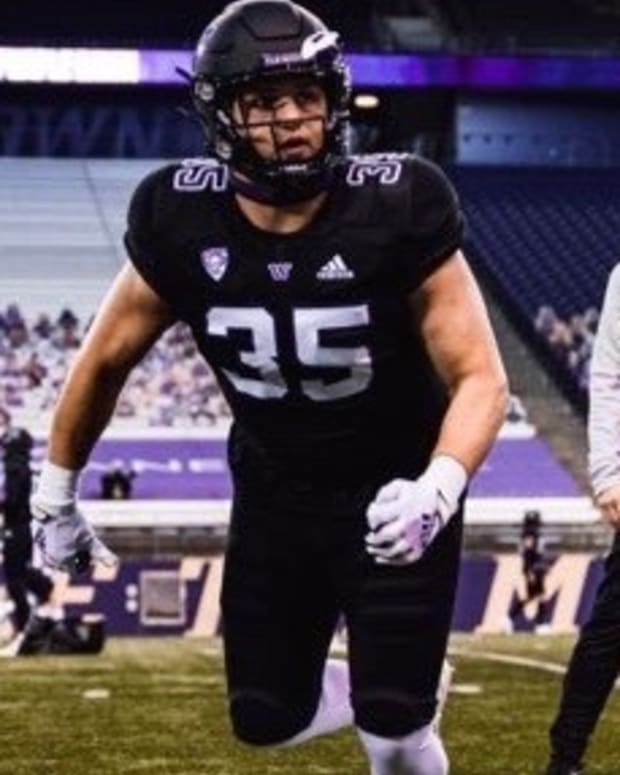 Ben Hines is a reserve UW linebacker.