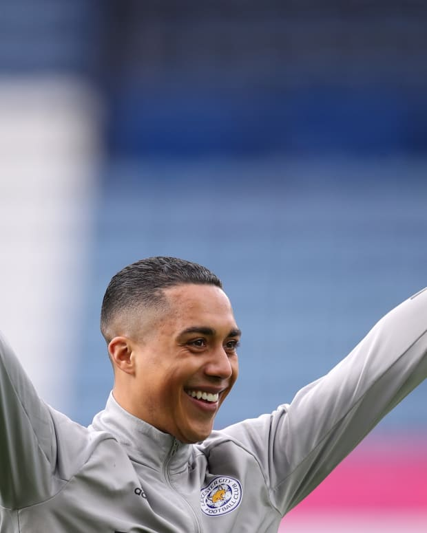 Youri Tielemans Leicester City