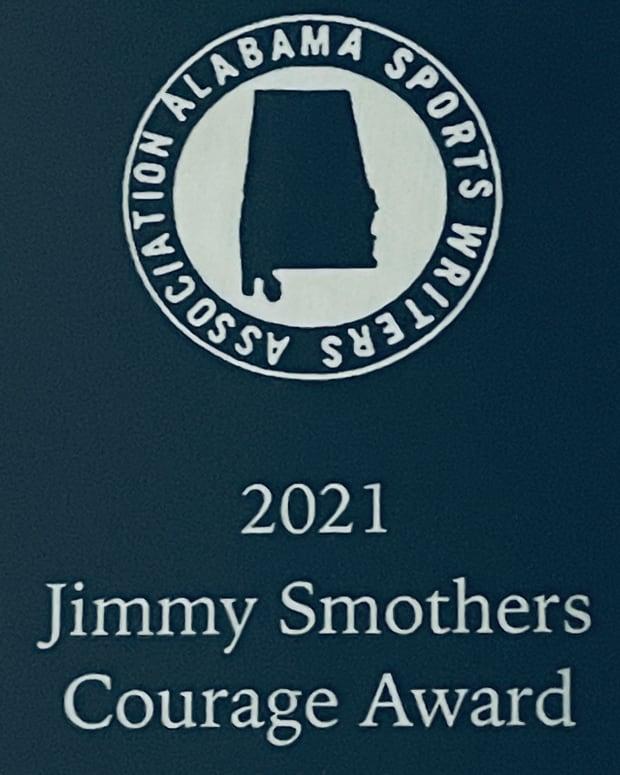2021 ASWA Jimmy Smothers Courage Award