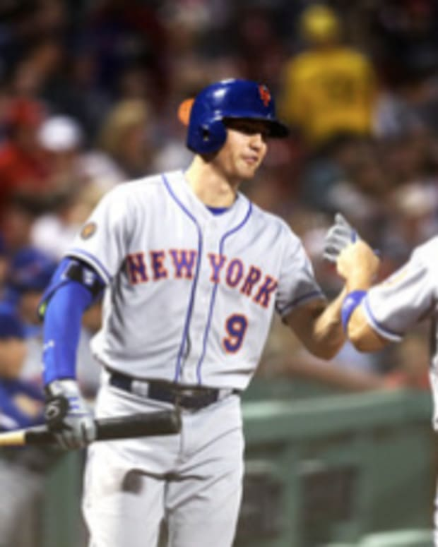 Mets outfielders' Michael Conforto and Brandon Nimmo