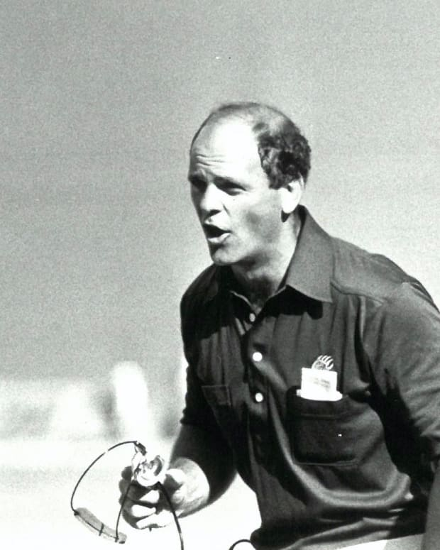 Rod Marinelli at Cal