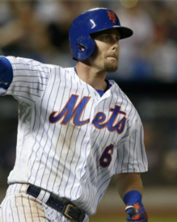 Mets second baseman Jeff McNeil